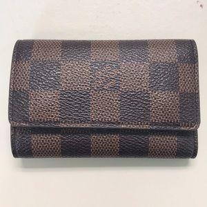 Key holder wallet Damier
